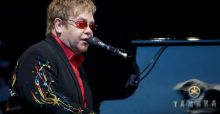 Russian president Vladimir Putin turns out to be an Elton John fan