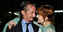 Florence flirts with Sean Penn