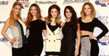 Girls Aloud ban alcohol on tour to support Sarah. Hats Off