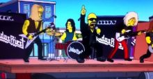 The Simpsons apologise to Judas Priest fans for calling the band
