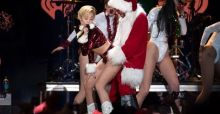 Miley Cyrus twerks her way to the top of MTV's 2013 Artist of the Year charts