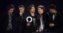 One Direction, Arctic Monkeys and David Bowie triumph at BRIT Awards 2014