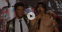Super Bowl 2014 - Bruno Mars and Red Hot Chili Peppers - Video