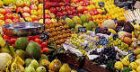 Teenagers caught shagging on fruit and veg stall