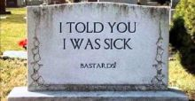 Funniest tombstone sayings and epitaphs