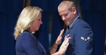 France Train Attack Hero, Spencer Stone, Stabbed in California