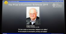 Scottish born economist, Angus Deaton, wins Nobel Prize in Economics