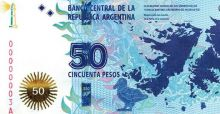 Argentina takes back the Falklands on new 50 Peso bank note