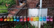 Woman warned by religious neighbour to 'tone down' her 'relentlessly gay' garden