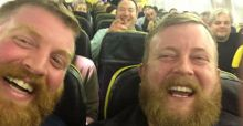 Man on flight discovers his doppelgänger in his seat
