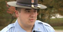 State Trooper takes 4 children under his wing for Halloween before breaking the news that their parents died