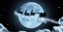 First Full Moon on Christmas Day since 1977