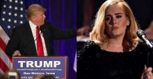 "Adele states that Trump ""had no permission"" to use her songs for his rallies"