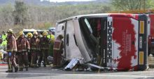 13 Erasmus students exchange students die in bus crash in Spain