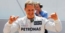 Michael Schumacher able to communicate by nodding and can keep his eyes open 'for long periods'