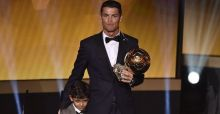 Cristiano Ronaldo named Ballon D'Or winner for second consecutive year
