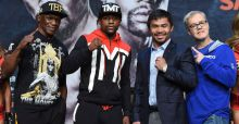 Floyd Mayweather vs Manny Pacquiao: Betting odds ahead of the big fight
