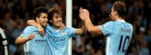 Manchester City 3 Wigan 0