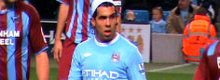 Tevez returns to training at Manchester City