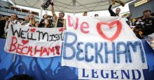 Beckham signs off with MLS triumph