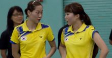 Badminton players disqualified for playing to lose