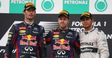 Vettel wins but angers teammate Webber