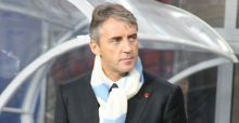 Mancini blames himself for Manchester City's defeat
