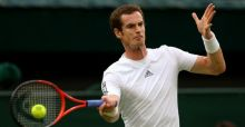 Murray cruises into fourth round at Wimbledon