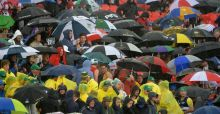 England retain the Ashes in the Manchester rain