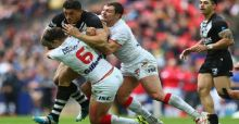 Rugby League World Cup 2013: England V New Zealand in Semi-Final