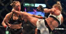 Shock as Holly Holms defeats Ronda Rousey and becomes new Bantamweight Title holder