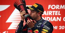 Sebastian Vettel wins fourth drivers' title in India