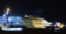 Costa Concordia salvage operation - Photo Gallery