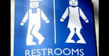 Funniest bathroom signs