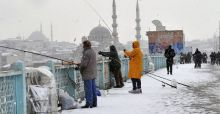 Middle East covered in snow - Photo Gallery