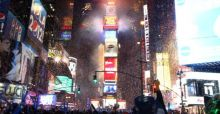 New Year's Eve  in the Big Apple - Photo Gallery