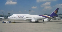 Booking flights with Thai Airways