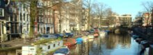 Sightseeing along Amsterdam's Canals