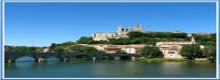 New this year: fly direct from Southampton to Béziers in the south of France.
