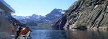 Summer cruises to the Norwegian Fjords can be a truly social event.