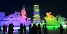 Harbin International Ice and Snow Festival in China: 30th edition