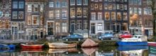 We check out hostels in Amsterdam city centre